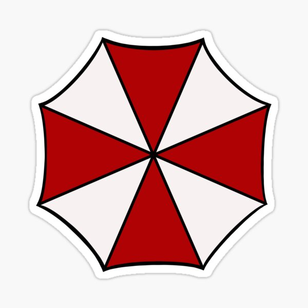 Umbrella Corporation Resident Evil Sticker