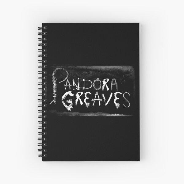 Pandora Greaves Logo Spiral Notebook