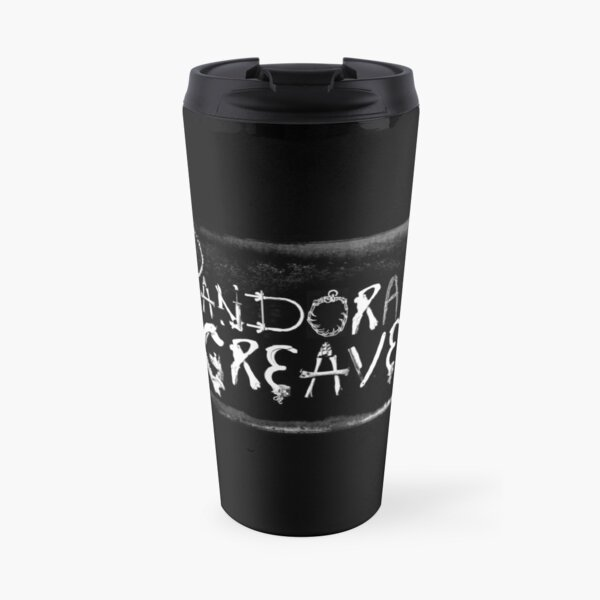 Pandora Greaves Logo Travel Mug