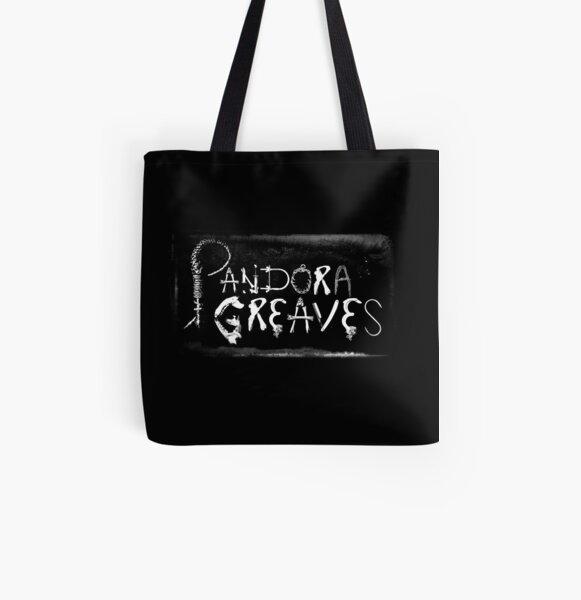 Pandora Greaves Logo All Over Print Tote Bag