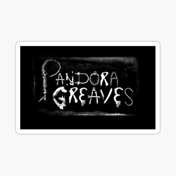 Pandora Greaves Logo Sticker