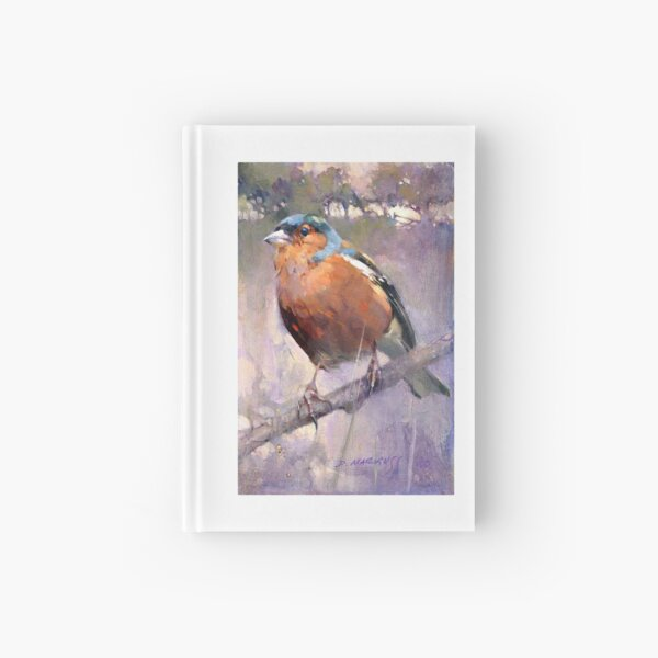 Male Chaffinch Hardcover Journal