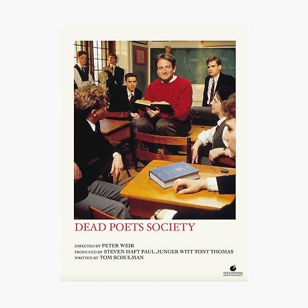 dead poets society polaroid  Photographic Print