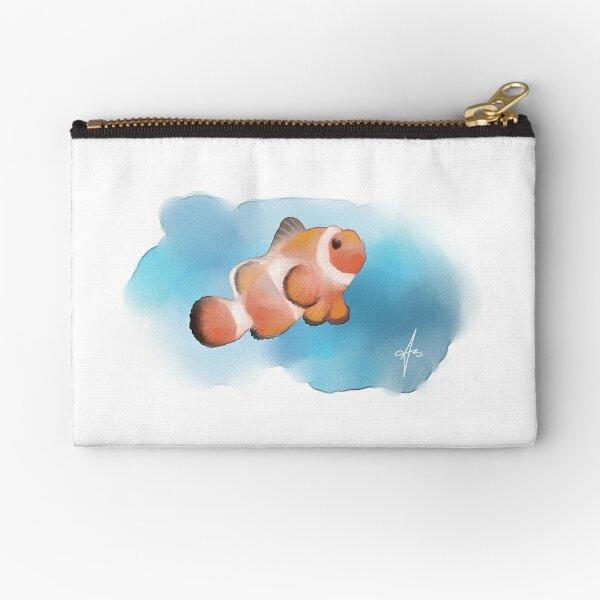 Artwork - Clown Fish Zipper Pouch