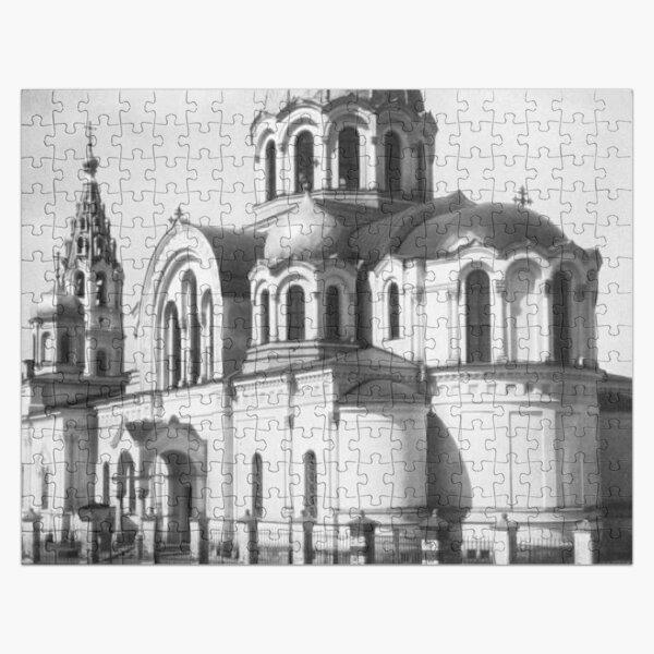 Москва, Казанская церковь у Калужских ворот. 1876-1886, архитектор Н. В. Никитин (1828-1913). Взорвана в 1972. Jigsaw Puzzle