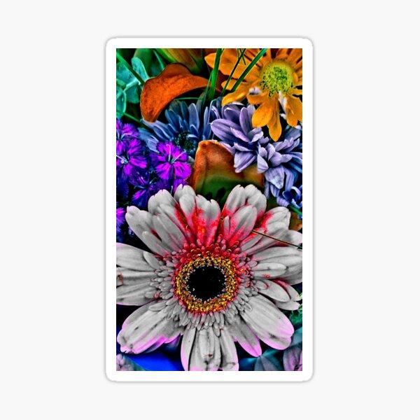 Flower carnaval . FlowerShop 528 Sticker