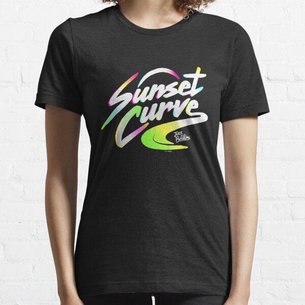 Julie And The Phantoms Sunset Curve Logo T shirt-png T-shirt essentiel