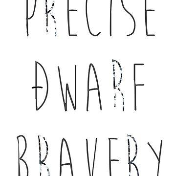 Precise Dwarf Bravery by hisoutensoku