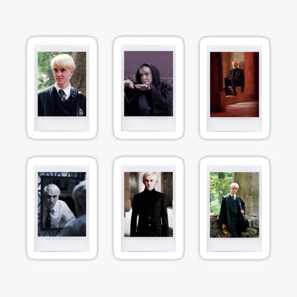 Draco Malfoy Polaroids<3 Sticker