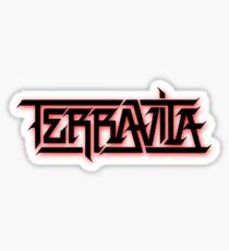 Terravita - Dubstep Logo Fade Sticker