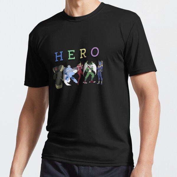 Héros élémentaires: Groupe T-shirt respirant