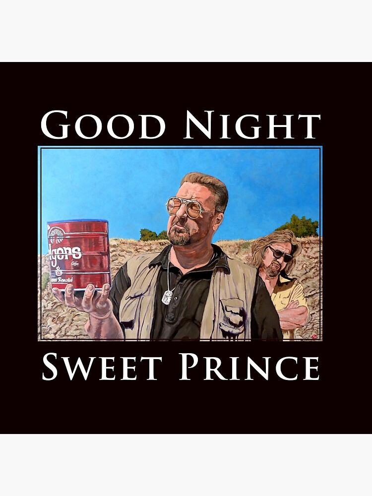 Good Night Sweet Prince by donnaroderick