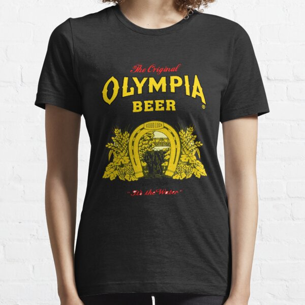 Olympia Beer Printed Retro Essential T-Shirt
