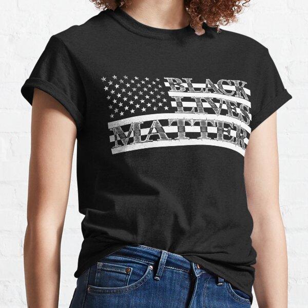 BLM US Flag (Light) Classic T-Shirt