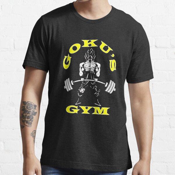 Goku s Gym - Deadlift Essential T-Shirt
