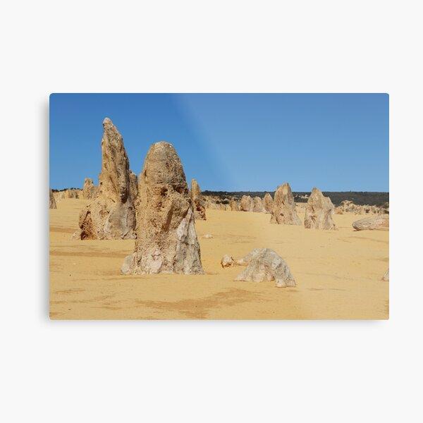 The Pinnacles, Western Australia Metal Print
