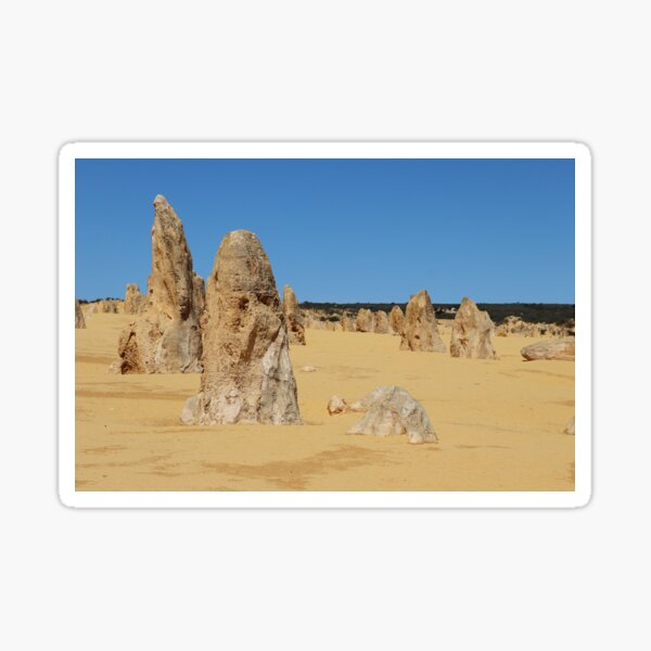 The Pinnacles, Western Australia Sticker
