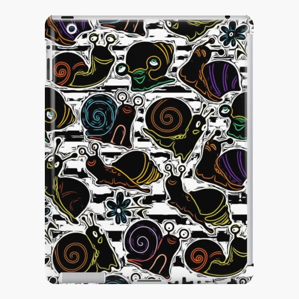 Psychedelic Snails iPad Snap Case