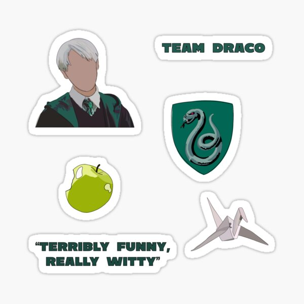 Draco Malfoy Sticker Pack Sticker