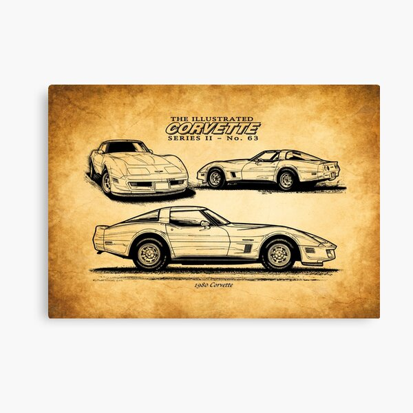 Car Photo to Painting Photo to Art Classic Car Guy gift Sports Car