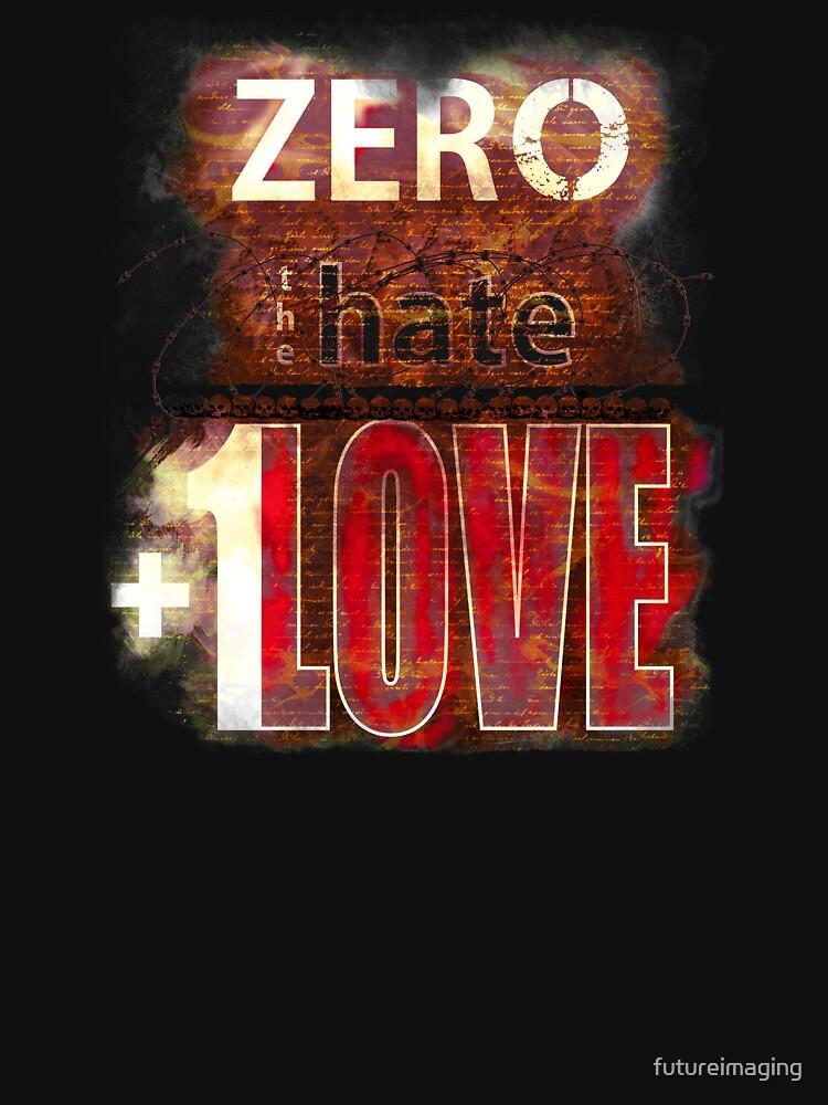 Zero hate +1LOVE Mystery Skulls by futureimaging