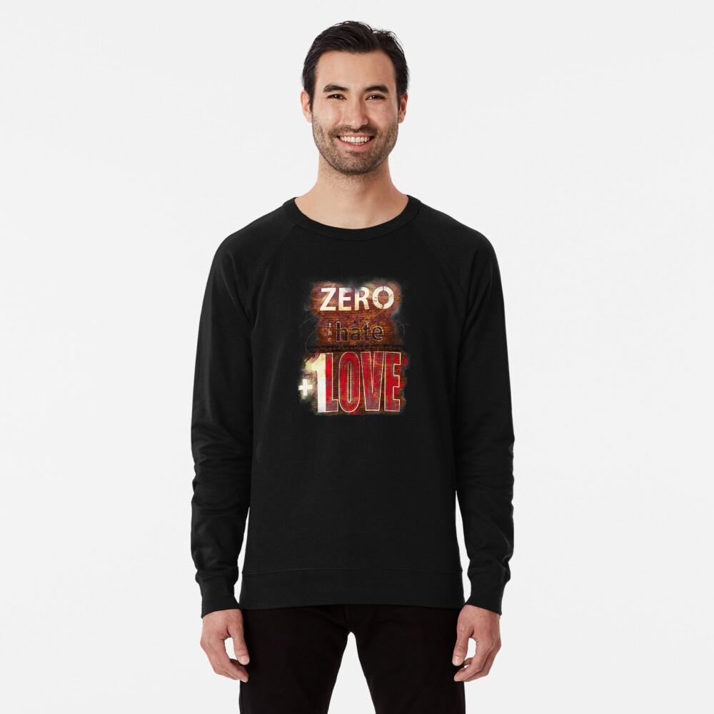 Zero hate +1LOVE Mystery Skulls Lightweight Sweatshirt