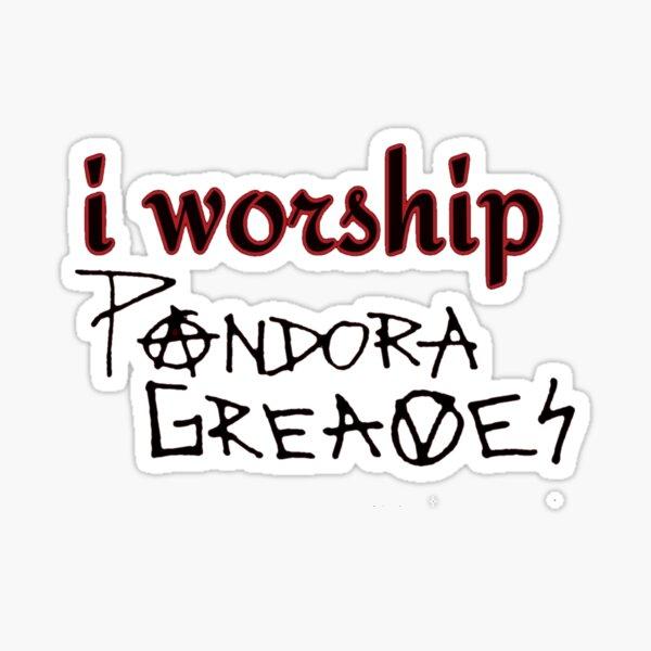 Worship Sticker