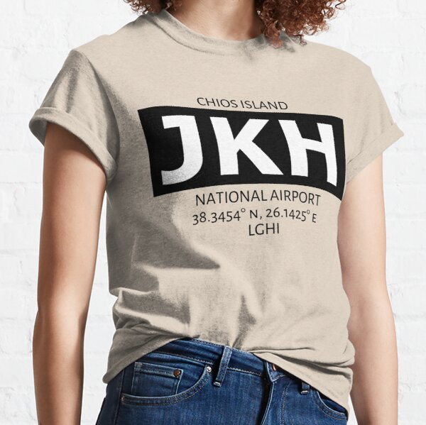 Chios Island National Airport JKH Classic T-Shirt