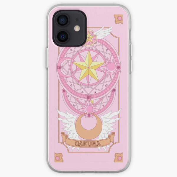 Cardcaptor Sakura Clow Card Tarot iPhone Soft Case