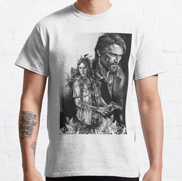 The Last Of Us Part II - Ellie et Joel T-shirt classique