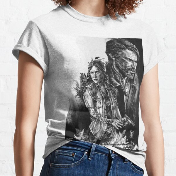 The Last Of Us Part II - Ellie and Joel Camiseta clásica