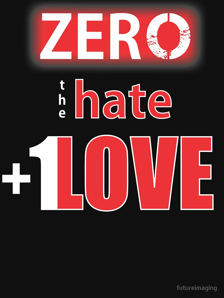 Zero hate +1LOVE Mv1 by futureimaging