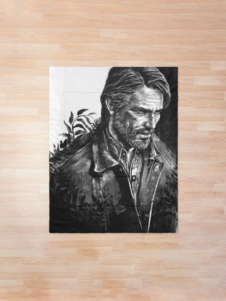 Alternate view of The Last Of Us Part II - Joel  Comforter