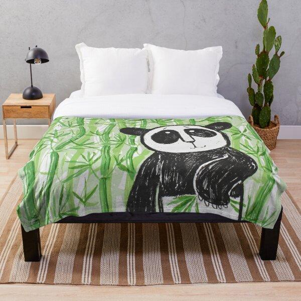 Bamboo Panda Throw Blanket