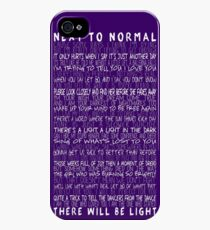Next to Normal iPhone 4s/4 Case