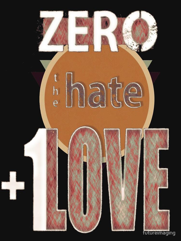 Zero hate +1LOVE retro by futureimaging