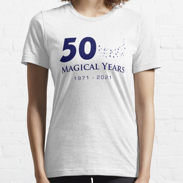 50 Magical Years - Stars (Blue Text) Essential T-Shirt