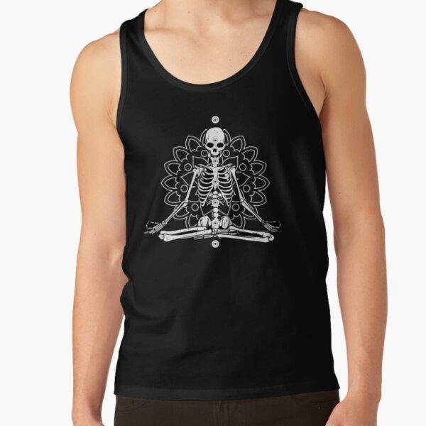 Skeleton Chakra Mandala Tank Top
