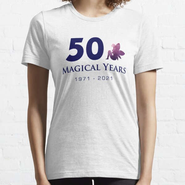 50 Magical Years - Fairy (Blue Text) Essential T-Shirt