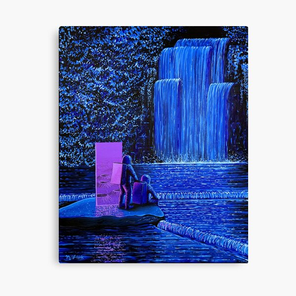 Return To Night Falls Canvas Print