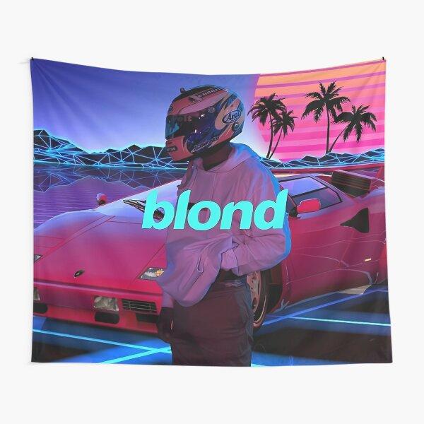 Blonde Retrowave Tapestry