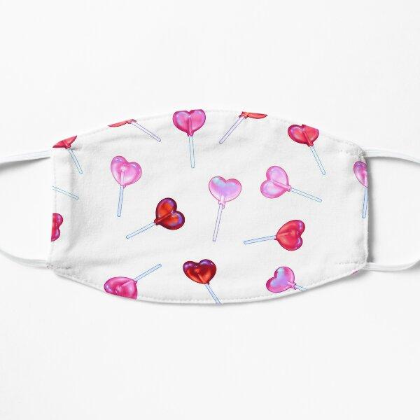 Lollipop Hearts Flat Mask