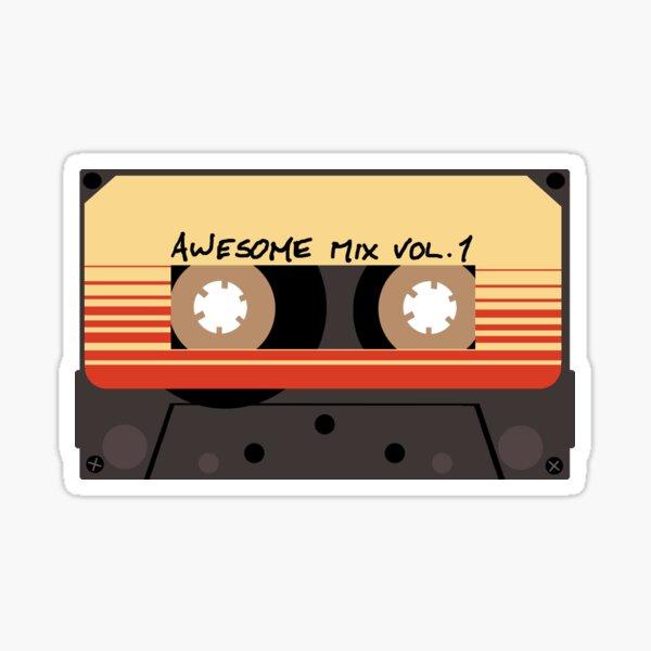Awesome Mix Vol 1 Pegatina