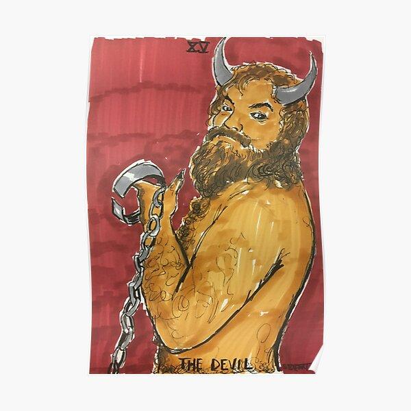The Devil in Tarot Poster