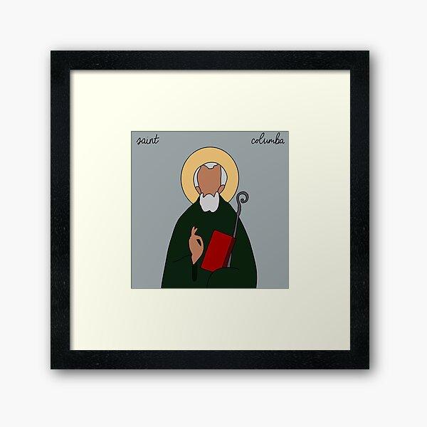 Saint Columba Framed Art Print