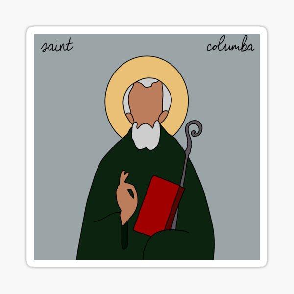 Saint Columba Sticker