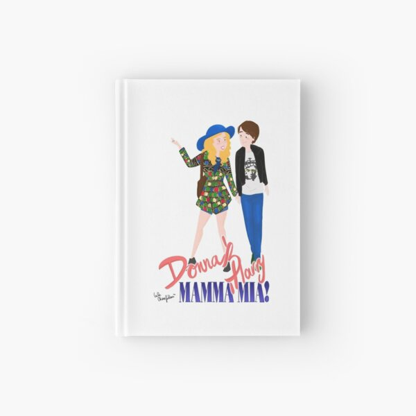 Donna and Harry Mamamia Hardcover Journal