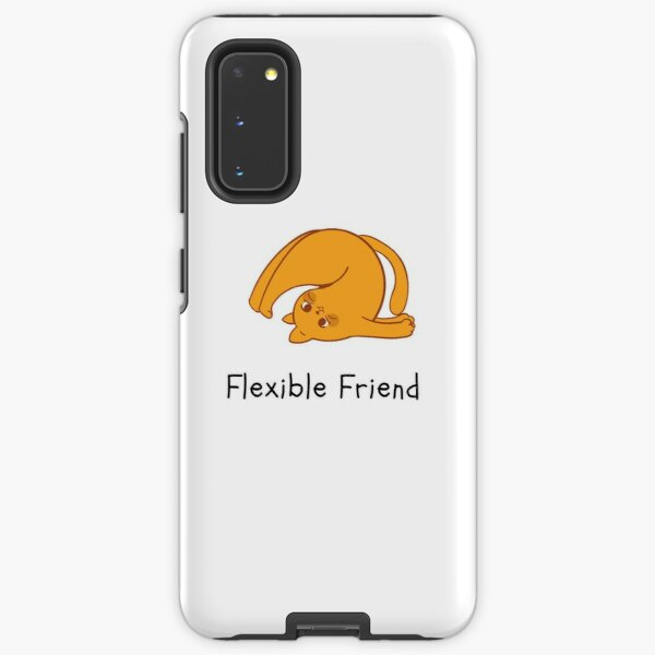 Yoga Cat, Flexible Friend Samsung Galaxy Tough Case