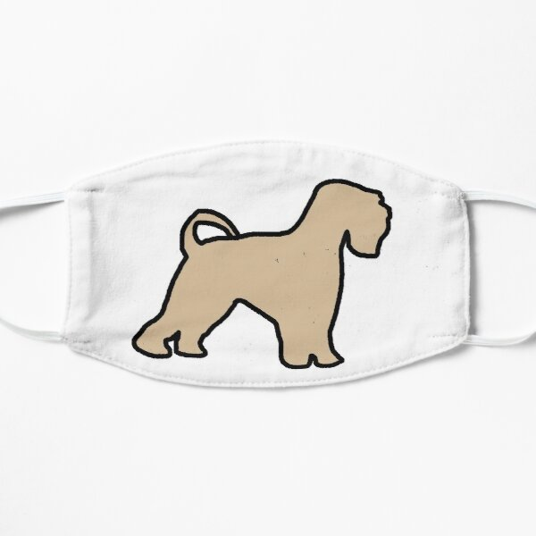 soft coated wheaten terrier color silhouette Mask