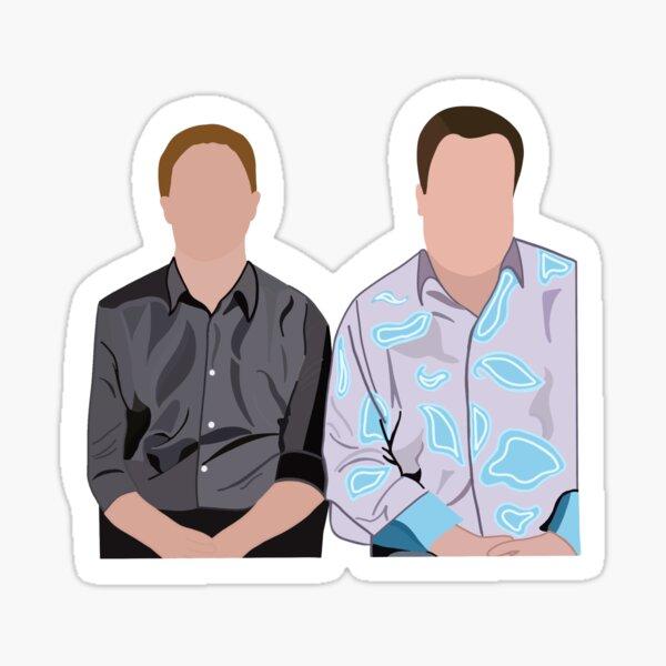 Cam and Mitch Sticker